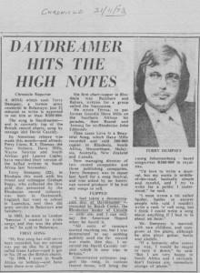 Article - Bulawayo Chronicle - 1973