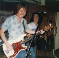 Dave Monks & Richard Thompson Police Club 1975