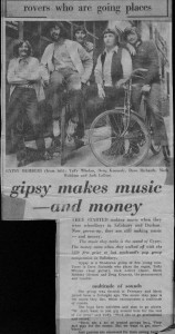 Gypsy Press Cutting