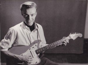 Hugo with Fender Jazzmaster