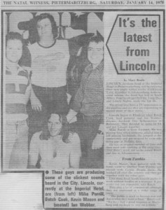 Lincoln Press Article 1978
