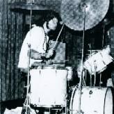 Ivor drumming