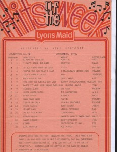Lyons Maid - Hits Of The Week - 12 August 1978
