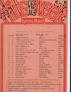 Lyons Maid - Hits Of The Week - 19 August 1978