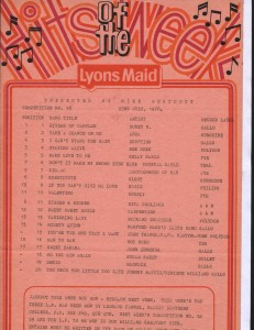 Lyons Maid - Hits Of The Week - 22 July 1978