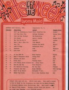Lyons Maid - Hits Of The Week - 23 October 1976