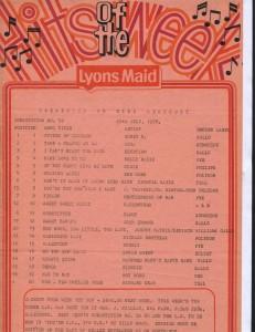 Lyons Maid - Hits Of The Week - 29 July 1978