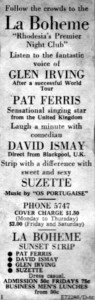RS - La Boheme Press Cutting