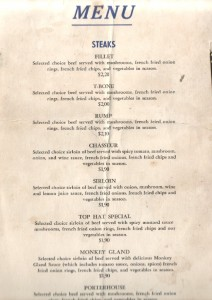 Top Hat Menu Pg 1